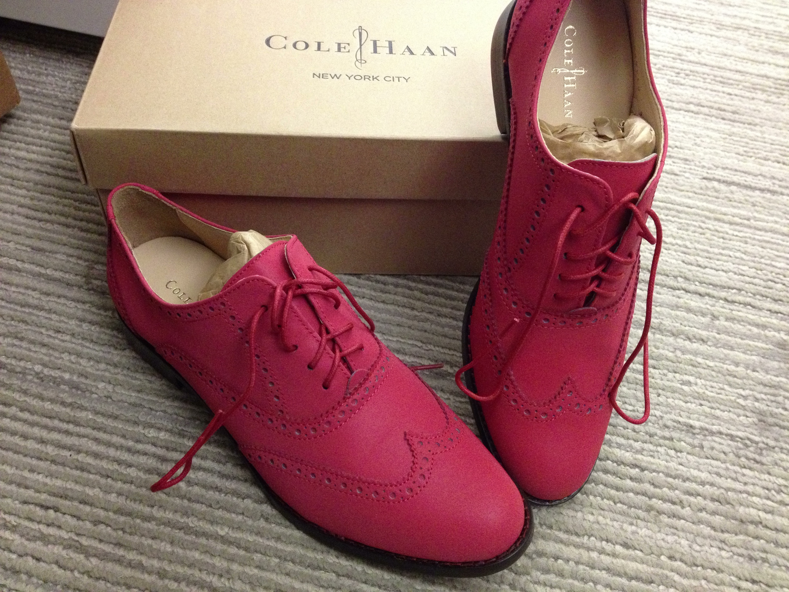 fa95256ead Cole Haan red shoes – tinlizzieridesagain