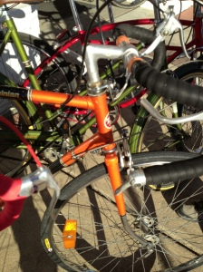 The Mechanic drooled over this National Bike Company bike, with its decorative lugs.