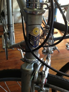 Love the medallion of this bike.