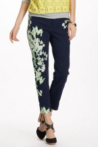 Anthropologie Megaflora Charlie Trousers