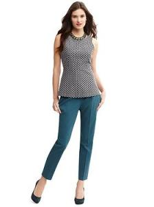 Banana Republic Peplum Top and Crops