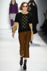 Ruffian RTW Fall 2013 - cropped pants to stay out of the chain...
