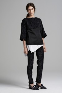 Thakoon RTW Fall 2013 - narrow legged pants remain popular, which means no pants strap, yay!