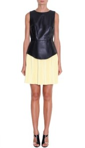 Tibi Leather Peplum Top - rather Joan of Arc, don't you think?