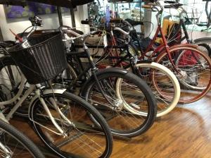 Viva bicycles inside Zen Bikes.
