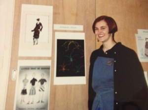 CAD Costume Design Workshop, early 1990s. Going my own way...