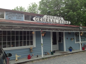First we biked to the general store.