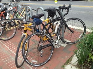 ...and a pair of Cannondales that could be twins to our road bikes!