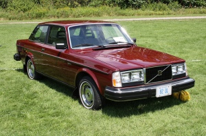 "My Volvo was similar to this one (image from this website), in a lovely ""rose beige"" color."