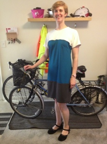 Bike to Work Day dress without flash...