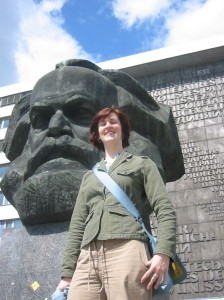 With Karl Marx in Chemnitz