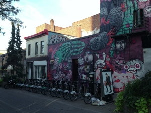 Art and Bixi - my memories of Montreal