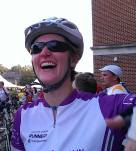 101 miles and still smiling! That's a great sign!
