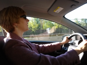 Proof that I can, and occasionally do, drive!