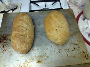 Yum, sourdough bread!