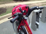 On a Capital Bikeshare bike
