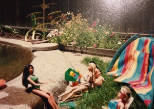 My Barbies went camping all the time!