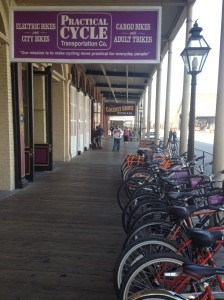 Practical Cycle in Old Town Sacramento