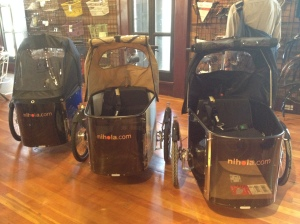 Nihola cargo tricycles