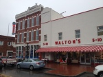 The Walton's 5-10 next to the corner soda fountain