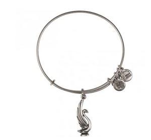 Alex & Ani swan bracelet