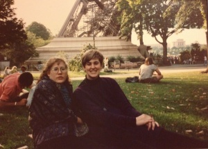 Bastille Day, under the Eiffel Tower, in 1990