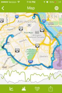 Almost the entire Arlington Loop!