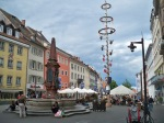 Konstanz town square. We spent three nights here all total, which is probably why it is my favorite place on the trip.