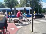 Stylish bike rider already!