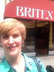 Selfie in front of Britex!
