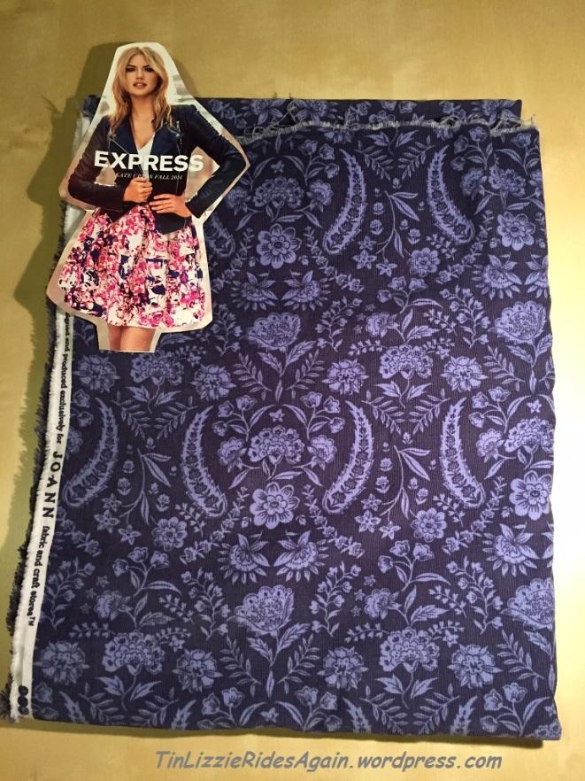 Print Corduroy Skirt_2