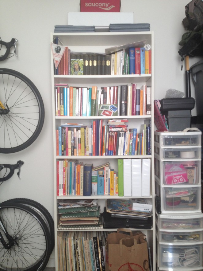Only one of several packed bookcases - I can't help it, I love books!