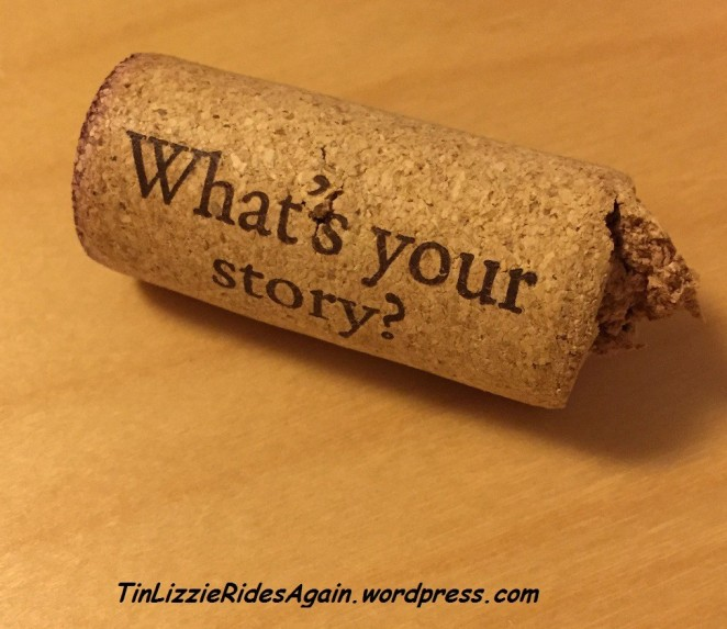 I love this cork from Irony Wine