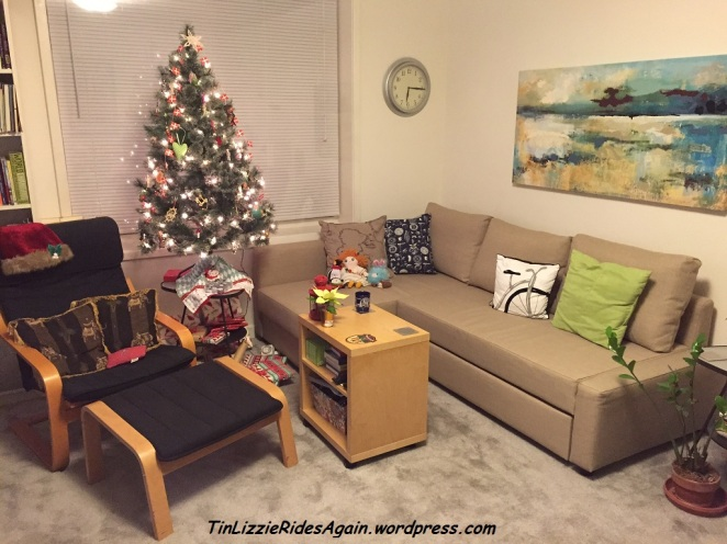 New Couch and Tree