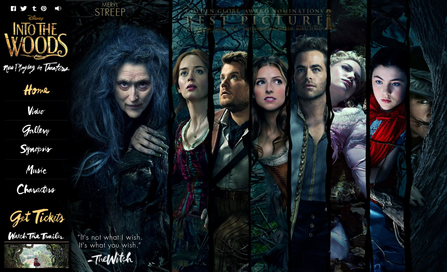Into the Woods – tinlizzieridesagain
