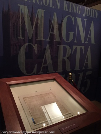 1215 Lincoln Cathedral Magna Carta