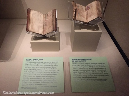 Two reprints of Magna Carta