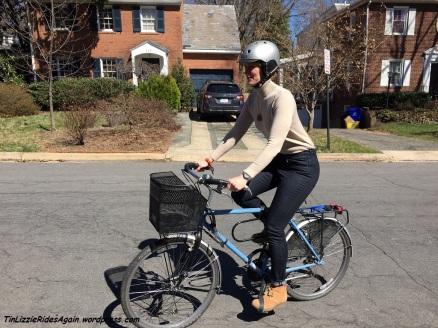 Biking is easy in Levi's!