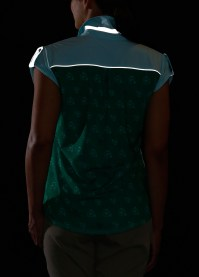 REI Novara Aldenwald Bike Top - showing the reflective details