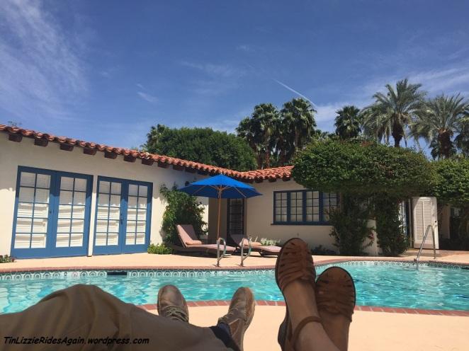 Poolside at El Presidente Suite at La Quinta Resort and Club