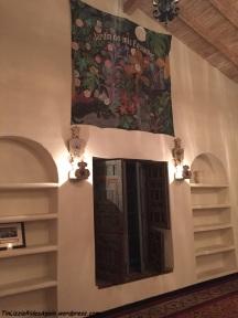 Greta Garbo's entertainment room