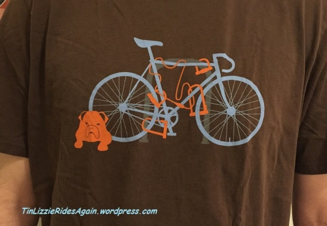 Brooklyn Industries bike locks tee