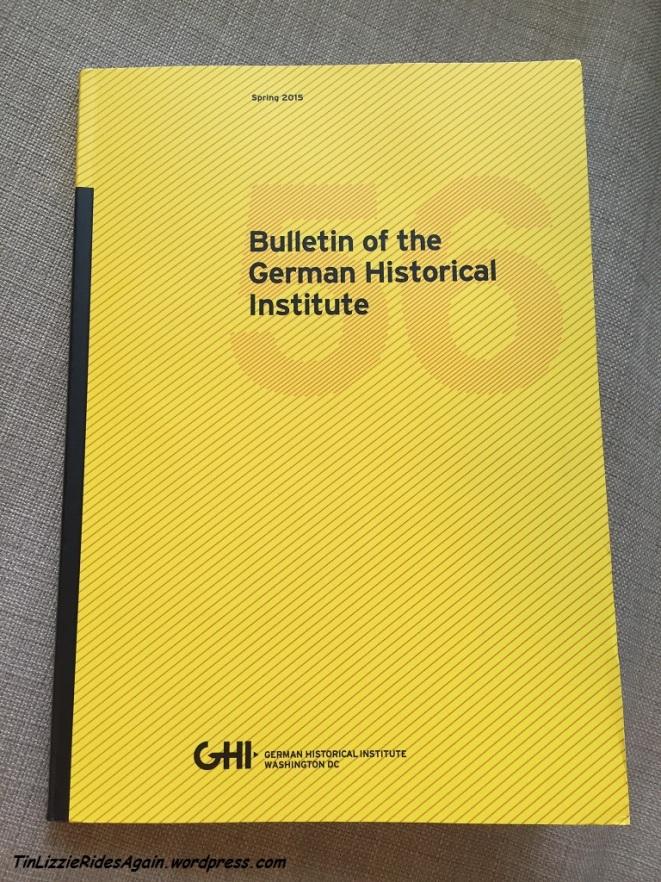 GHI Bulletin