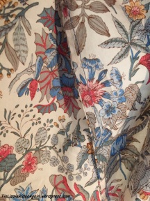French seams are appropriate for my first Liberty of London fabric