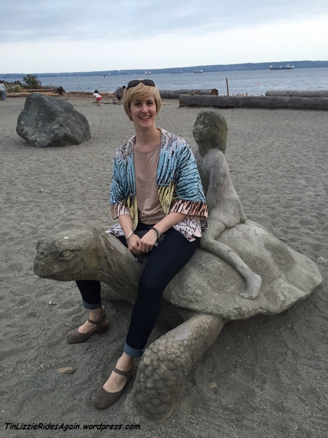 Me on a Vancouver beach