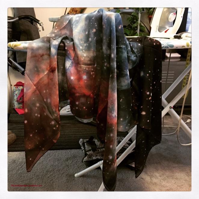 Thor Nebula Scarf from ShadowplayNYC
