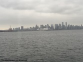 Vancouver, as seen from the SeaBus