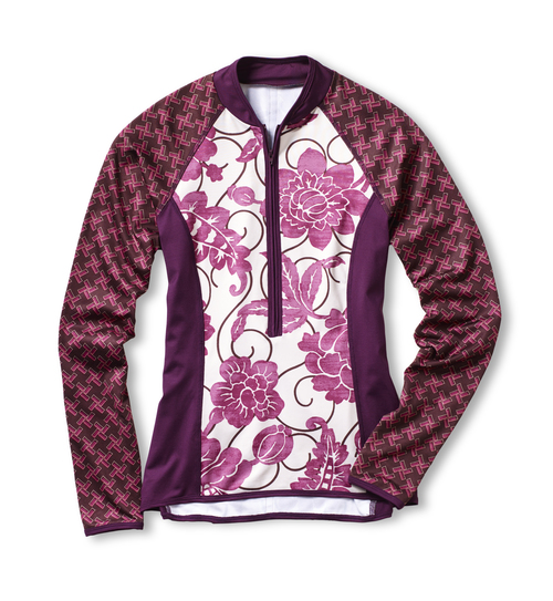 In Pursuit of Peonies Sassy Cyclist Jersey