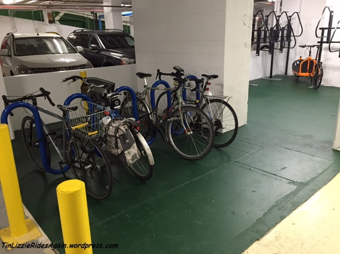 Bike Racks End of Sept 2