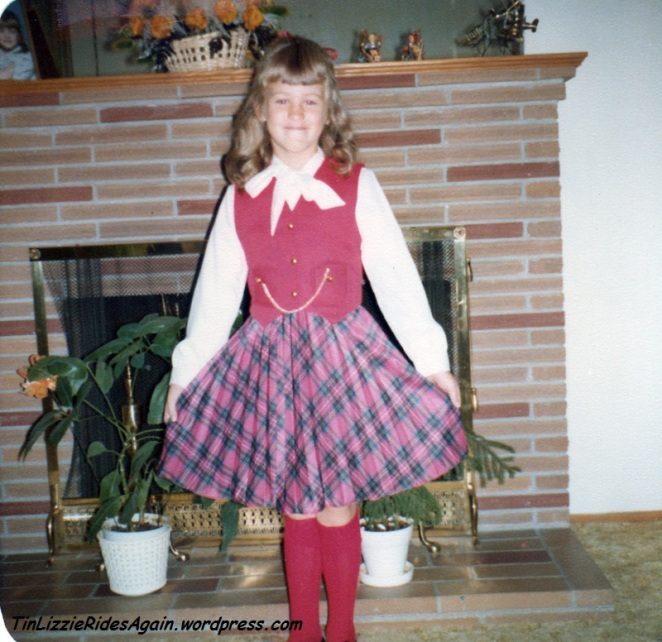 First Grade - who wears something like this in first grade?!?! How did my parents not guess at my future focus from this photo?